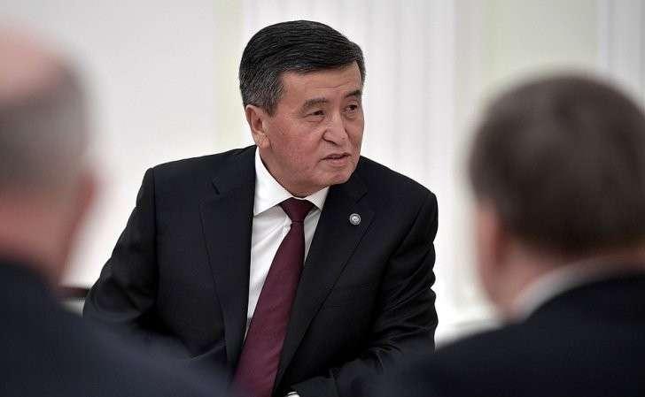 Президент Киргизской Республики Сооронбай Жээнбеков.