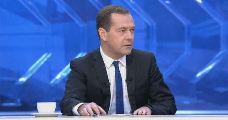 Разговор с Дмитрием Медведевым. Итоги 2017 года. Прямая трансляция!