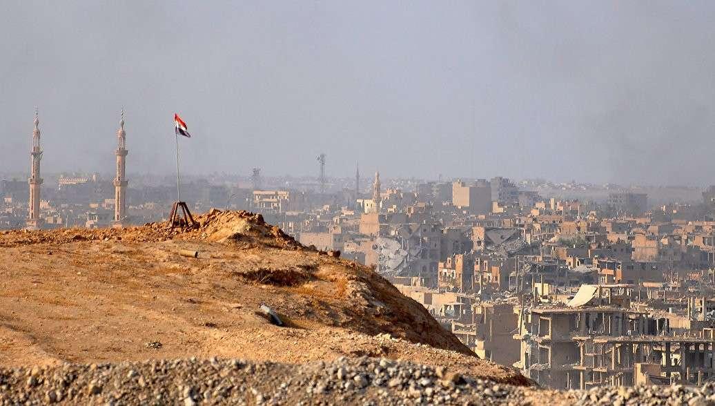 Сирийская армия обнаружила американское оружие на складах ИГИЛ