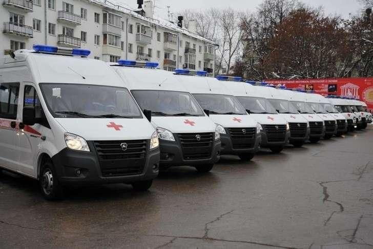 Новые автомобили получили медики иправоохранители Рязанской области
