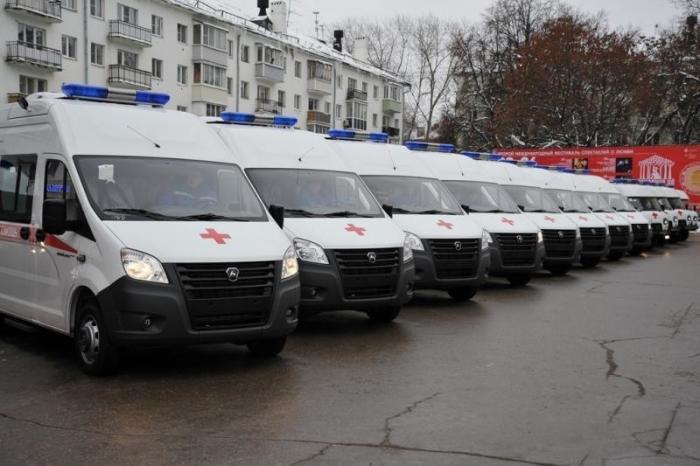 Медики иполиция Рязанской области получили новые автомобили