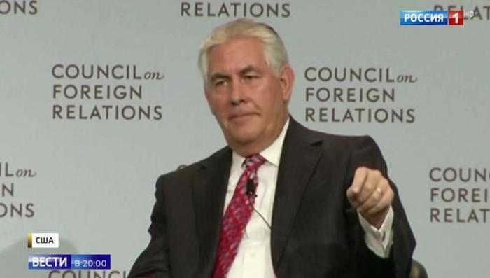 Американские СМИ отправляют госсекретаря США Рекса Тиллерсона в отставку