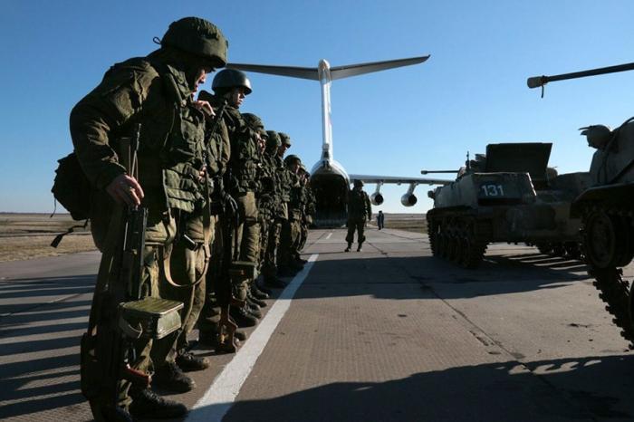 В Крыму сформирован отдельный Десантно-штурмовой батальон