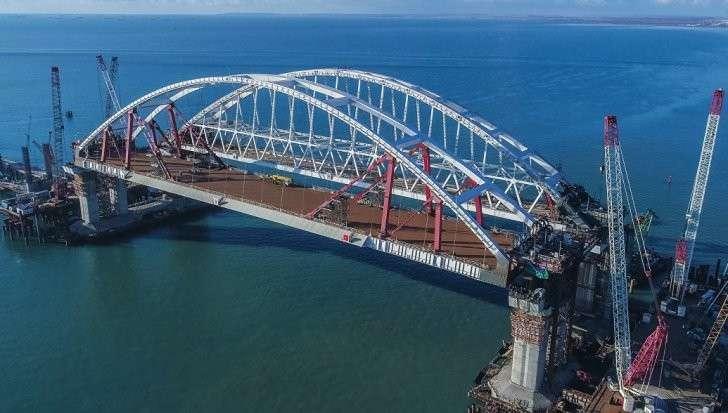 Киев ответил на идею о санкциях из-за моста в Крым