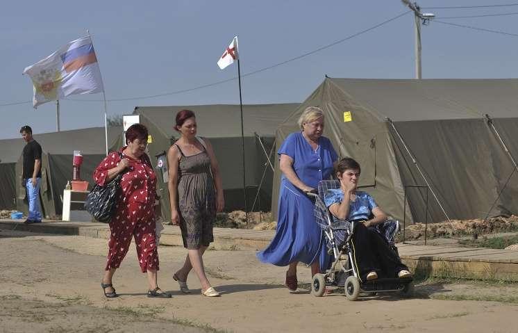 Власти РФ выделили дополнительную помощь украинским беженцам