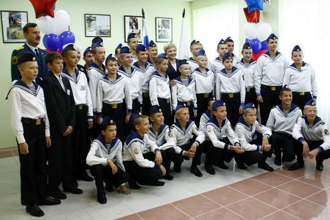 В Мурманской области открыт первый в регионе кадетский корпус