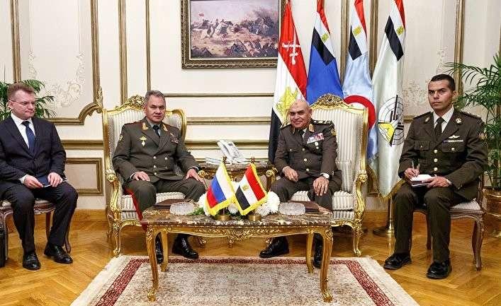 Россия и Египет подписали соглашение о совместном использовании военных баз
