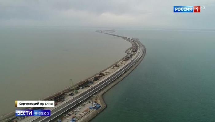 Строители рассказали об уникальности асфальта для Керченского моста