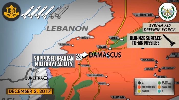 Сирия: ПВО страны способны перехватывать ракеты террористического Израиля