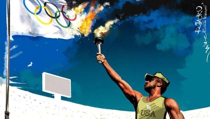Юмор. Олимпиада, очищенная от русских атлетов. Пророческий фельетон