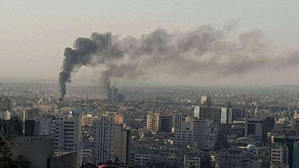 Сирия отразила очередную ракетную атаку террористического Израиля