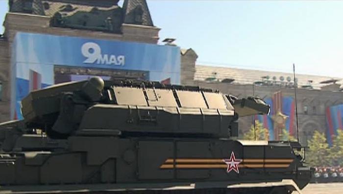 Российские военные показали новейшую модификацию комплекса ПВО «Тор» в действии