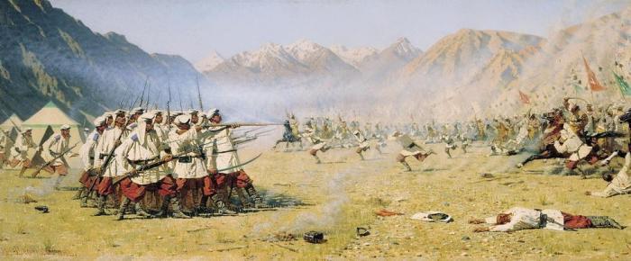 Вы можете не верить, но в Иканском сражении 100 казаков победили 10.000 армию!