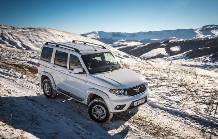 УАЗ поставил вУзбекистан 300 автомобилей ПАТРИОТ иПИКАП