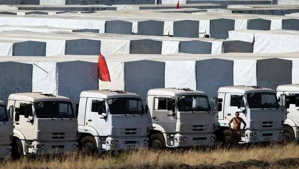 МЧС РФ: во втором гуманитарном конвое отправят продукты и воду