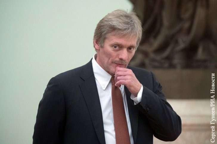 Дмитрий Песков прокомментировал отстранение России от Олимпиады
