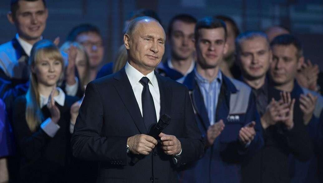 Владимир Путин объявил об своём участии в президентских выборах