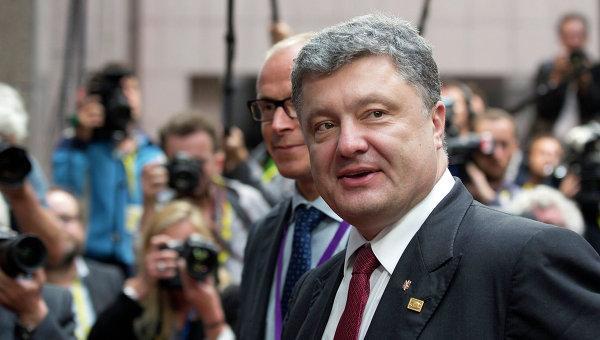 Порошенко прикажет прекратить огонь в Донбассе с 15.00 мск пятницы