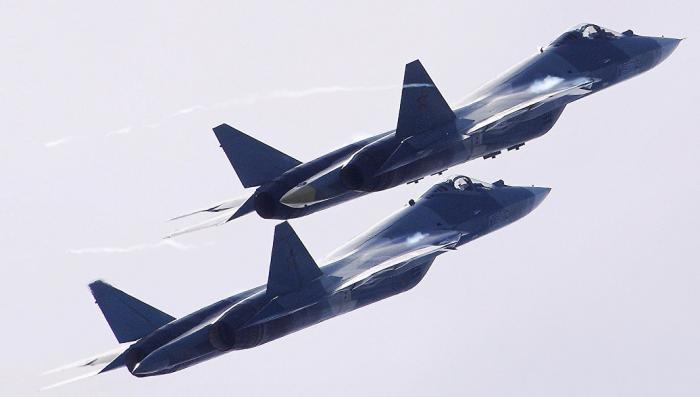 Су-57 с новым двигателем. На что будет способен противник F-22?