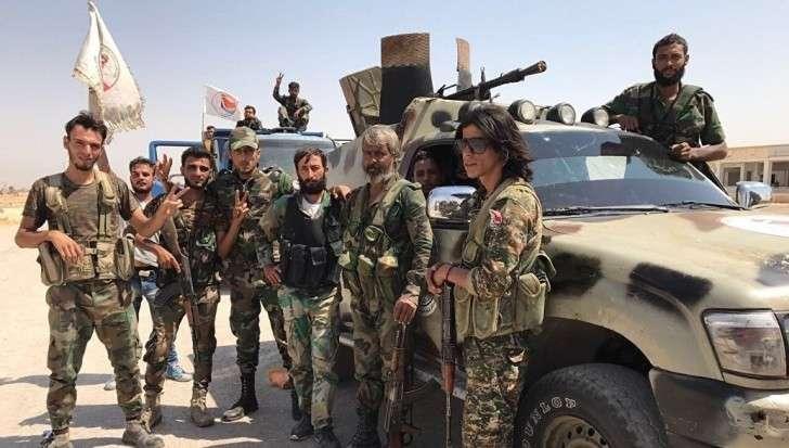 Сирия празднует победу над наемниками США (ИГИЛ). Генштаб России готов к новым боям