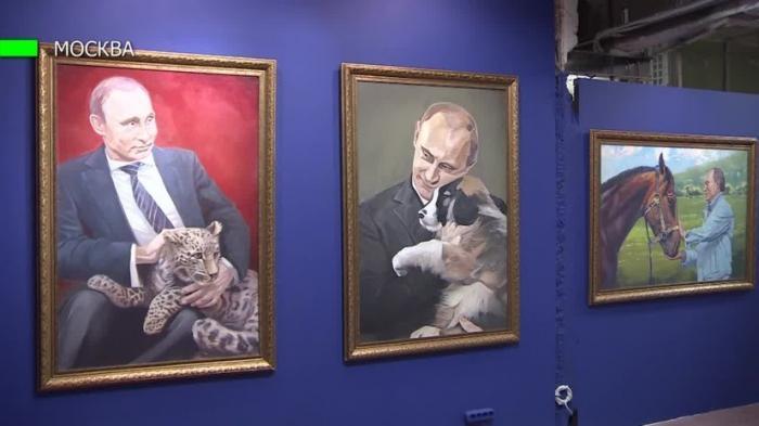 В Москве открылась выставка, посвященная Владимиру Путину – SUPERPUTIN