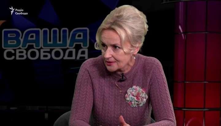 Сумасшедшая еврейка Фарион заявила, что русскоязычные не имеют права существовать