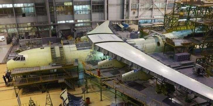 На «Авиастар-СП» началась установка российской линии роботизированной сборки самолётов Ил