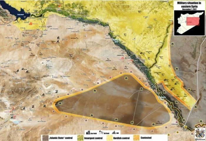 Сирия: подробности «зачистки» ИГИЛ уже после победы над ним