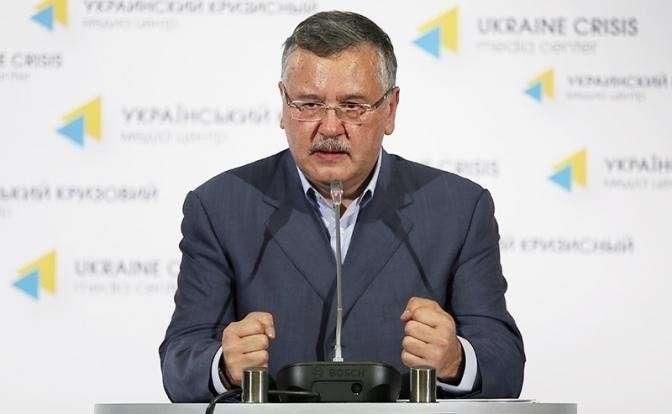 Экс-министр обороны Украины Анатолий Гриценко