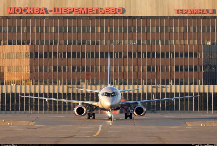 Сухой Суперджет 100. Авиакомпания «Аэрофлот» получила 34-й пассажирский лайнер