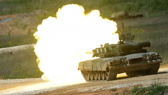 Россия модернизирует свой запас турбореактивных украинских танков Т-80