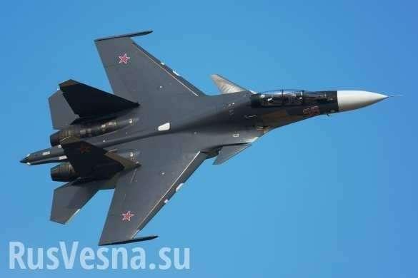Сирия: Су-30совершил фантастический манёвр, «заглянув внутрь» транспортного Ил-76 (ВИДЕО) | Русская весна
