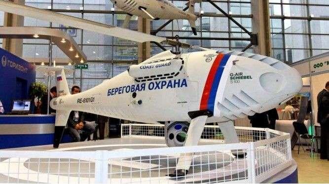 Промышленность скоро сможет предложить ВМФ РФ морские беспилотники вертолетного типа