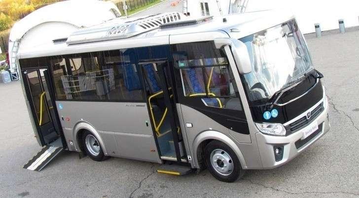 Автобусы ПАЗ Вектор NEXT вмодификации «Доступная среда» поступили вТюмень