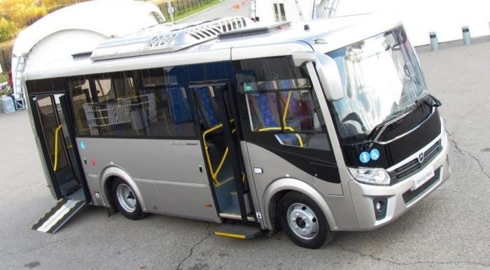 В Тюмень поступили автобусы ПАЗ Вектор NEXT вмодификации «Доступная среда»