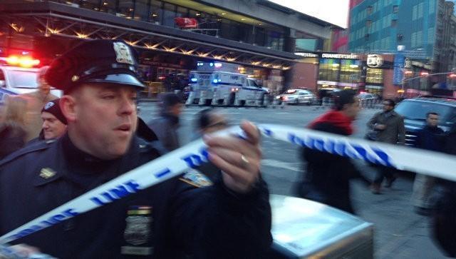 Нью-Йорк. В центре Манхэттена прогремел взрыв