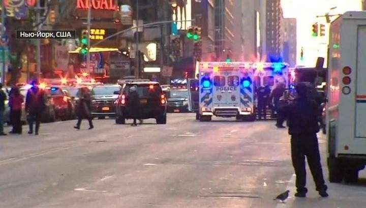 Взрыв в центре Нью-Йорка на Манхэттене признали терактом