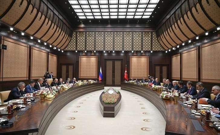 Заявления Владимира Путина и Реджепа Эрдогана по итогам российско-турецких переговоров.