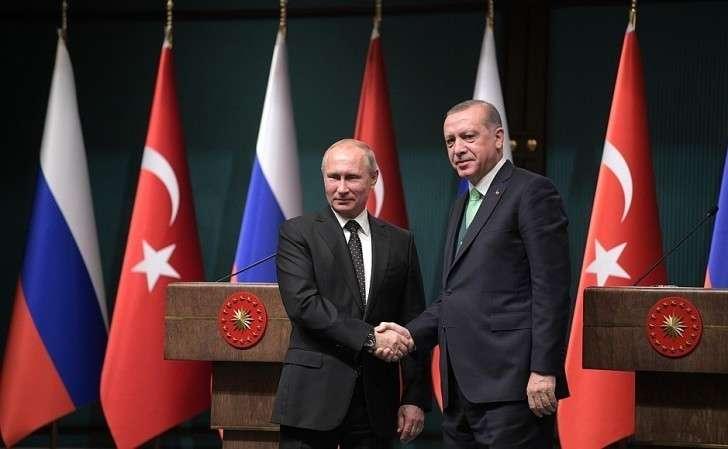 Поокончании заявлений для прессы поитогам российско-турецких переговоров.