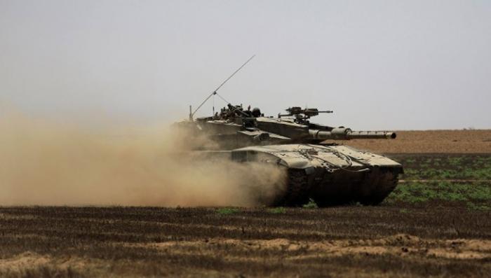 Террористический Израиль нанес удар по позициям ХАМАС в Газе