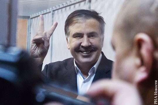 Клоун сын Исаака – Саакашвили – разоблачает «импотенцию» режима клоуна Вальцмана