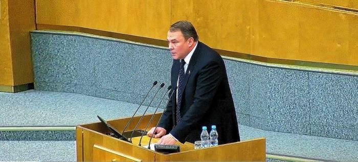Блестящее выступление депутата по поводу отстранения России от Олимпиады 2018