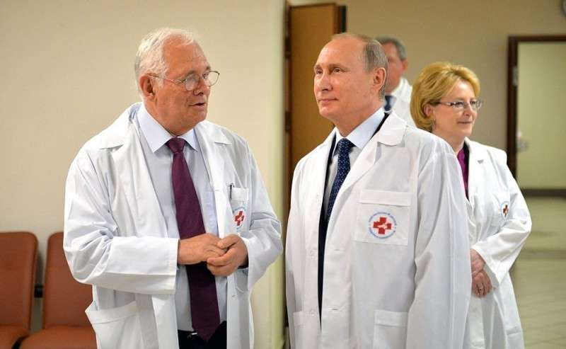 Юмор: хирургия Владимира Путина 2000 – 2017 год