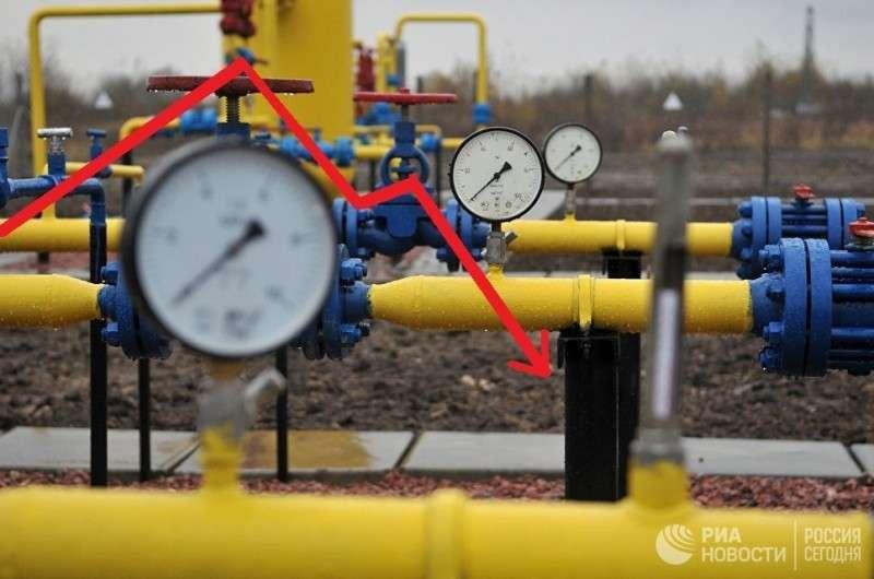 Транзит газа через Украину рухнул на 23%. И это только начало