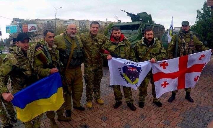 Киевская хунта перебросила в зону проведения карательной операции грузинских наёмников