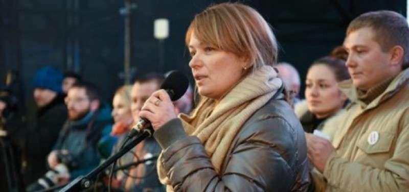 Жена Саакашвили Сандра Рулофс заняла майданную нишу Юльки Капительман