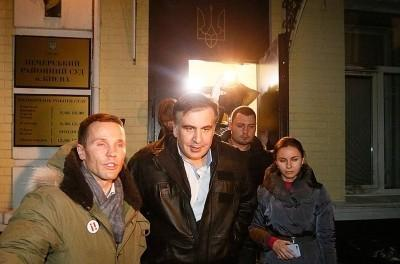 Саакашвили освобождён из-под ареста по приказу из США