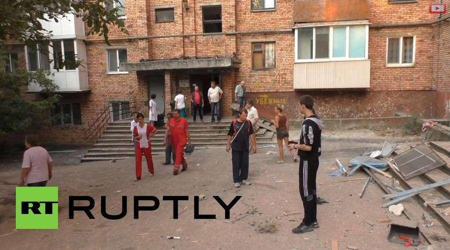 Каратели снова обстреляли Донецк: один человек погиб, ещё трое получили ранения