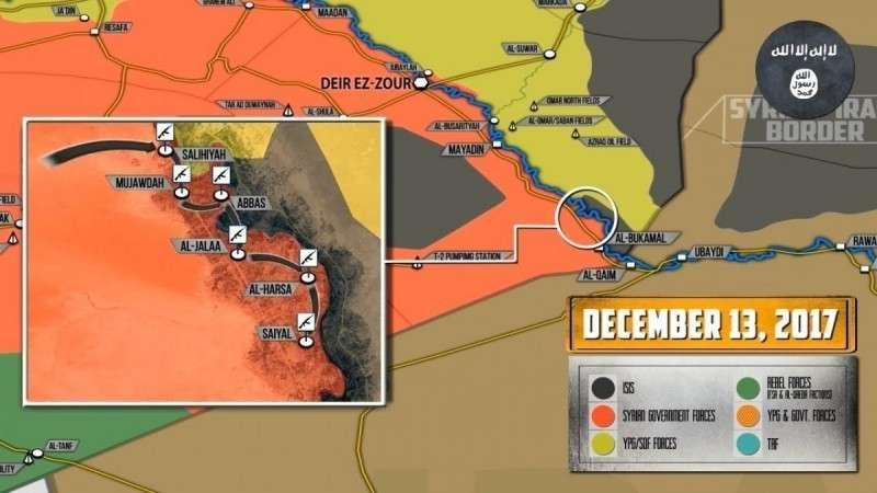 Сирия. Внезапная атака ИГИЛ на сирийскую армию не возымела должного эффекта