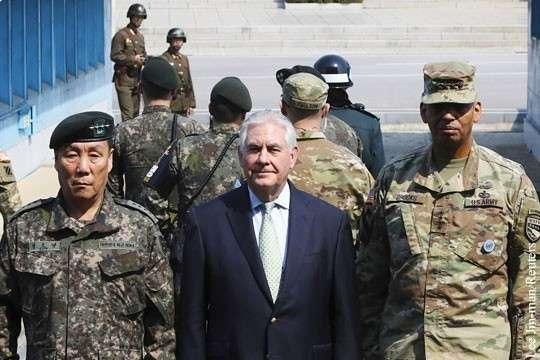 США «сдали назад» в противостоянии с Северной Кореей